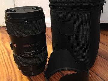 Rent: SIGMA ART 18-35mm f/1.8