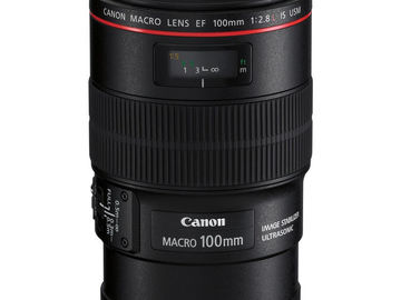 Rent: CANON 100/2.8L MACRO IS