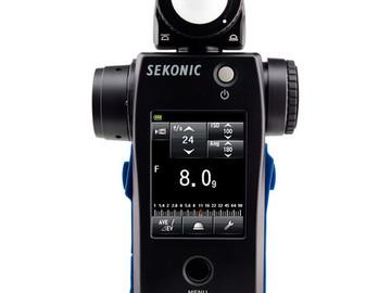 Rent: SEKONIC SPEEDMASTER L-858D-U