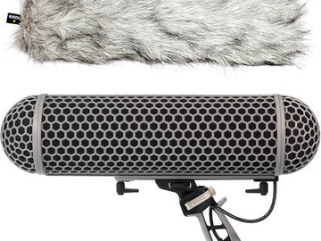 Rent: Rode Microphone Blimp & Rycote Shock Mount