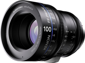 Rent: Schneider Xenon FF 100mm T2.1 Lens with Canon EF