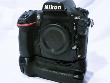 Rent: Nikon D810 + Grip