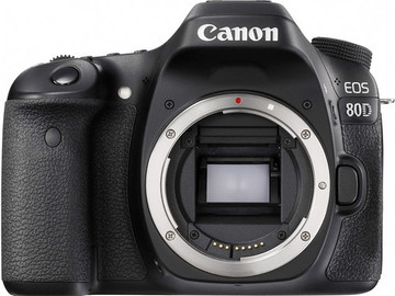 Rent: Canon EOS 80D DSLR Camera (Body Only)