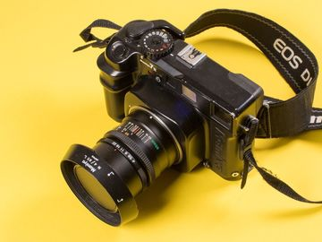 Rent: Mamiya 7 II Medium Format SLR Film Camera with 65 mm lens
