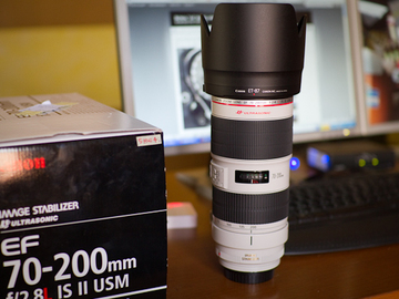 Rent: Canon L series II 70-200 2.8