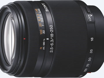 Rent: Sony sal18250 Alpha DT 18 – 250 mm f/3.5 – 6.3
