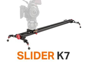 "Rent: Konova Slider K7 ( 31.5"") + Controller + Ikan GC102 Tripod"