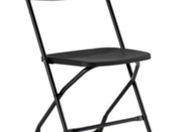 Rent: 1 x Black Folding Chairs