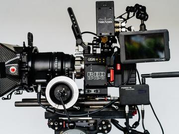 Rent: RED Helium 8K - TERADEK WIRELESS Package w/ Lenses+AKS