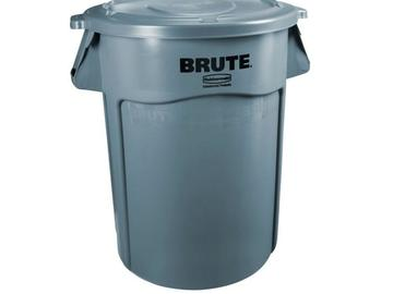 Rent: Trash Can 32gal (5 Available & 2 Recycling)