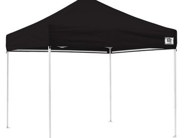 Rent: 10x10 Pop Up Tent w/ Sides & 4x Sandbags Included