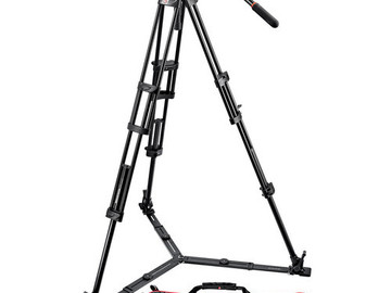 Manfrotto 504HD 2-Stage Tripod System