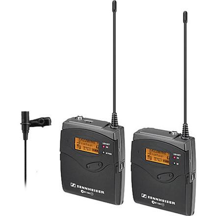 Sennheiser G3 SK100 Transmitter EW Reseiver w/ Lavalier Mic