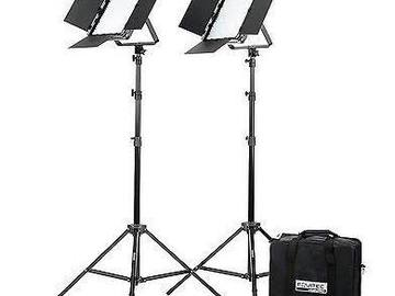 Rent: StudioPro LED Bi-Color S-600B. Set of 2