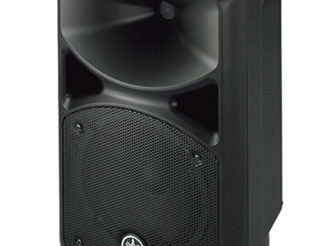 Rent: Yamaha PA System Speaker Bundle (mic and stands)