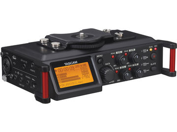 Rent: Tascam DR-70D 4-Channel Audio Recording Device for DSLR and