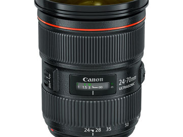Rent: Canon lens 24-70mm f2.8