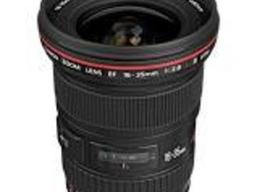 Rent: CANON 16-35MM 16-35 2.8L II, MARK 2