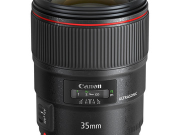 Rent: Canon EF 35mm f/1.4L II USM Lens