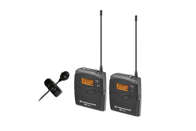 Sennheiser G3 Transmiter and receiver and lavalier mic