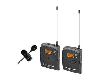 Rent: Sennheiser G3 Transmiter and receiver and lavalier mic