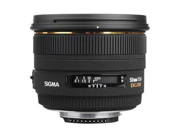 Rent: Sigma 50mm 1.4 EX