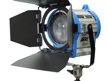 Rent: Arri 650w Fresnel LED Modified Daylight Balanced