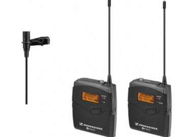 Rent: Pair of Sennheiser G3 wireless mic transmitters and receiver