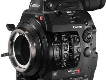 Rent: Canon Canon EOS C300 Mark II PL Cinema Camera