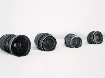 Rent: Vintage lens kit. Carl Zeiss Jena + Pentacon. EF compatible