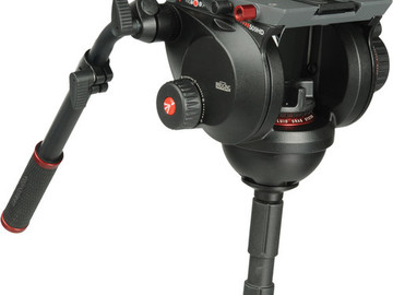 Rent: Manfrotto 509HD Head with 545GB Tripod Legs
