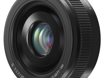 Rent: Panasonic 20mm f1.7 Pancake