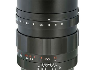 Voigtlander 17.5mm f.95 prime lens - Micro Four Thirds MFT