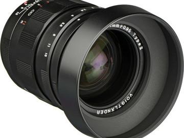 Voigtlander 25mm f.95 Type II prime lens - Micro Four Thirds