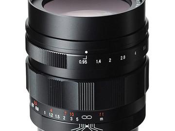 Voigtlander 42.5mm f.95 prime lens - Micro Four Thirds MFT