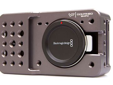 Rent: Blackmagic Pocket Cinema Camera w/ View Factor Cage