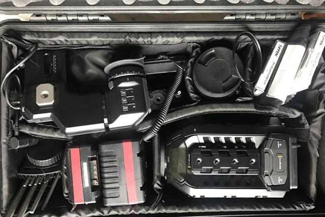 Blackmagic URSA Mini 4.6K MEGA Kit Ready For Shooting