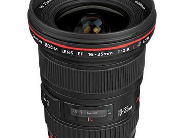 Rent: Canon EF 16-35mm f/2.8L II USM Lens