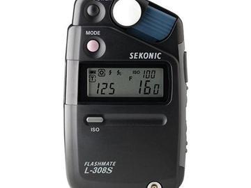 Rent: Sekonic L-308S Flashmate Light Meter