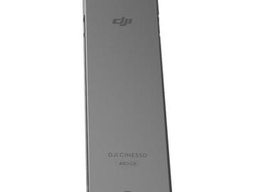 Rent: DJI INSPIRE 2 480GB SSD CARD & CINESSD READER