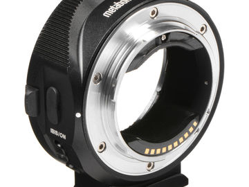 Rent: Metabones Canon EF Lens to Sony E Mount T Smart Adapter