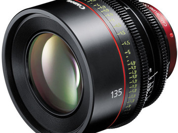 Rent: Canon CN-E 135mm T2.2 L F Cinema Prime Lens (EF Mount)