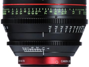 Rent: The Canon CN-E 85mm T1.3 L F Cine Lens is an EF-mount