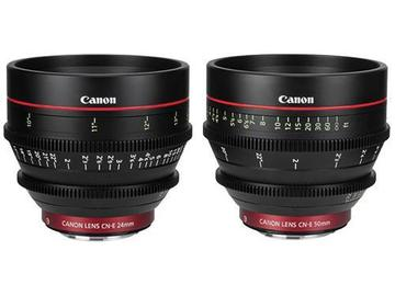 Rent: Canon CN-E Cinema Prime 2 Lens Set