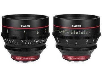 Canon CN-E Cinema Prime 2 Lens Set