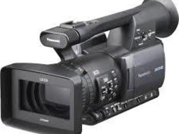 Rent: HMC 150 camera