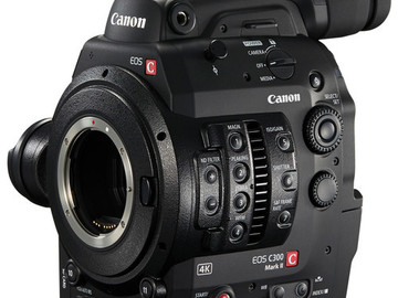 Rent: Canon Cinema EOS C300 Mark II Camcorder Body (EF Mount)