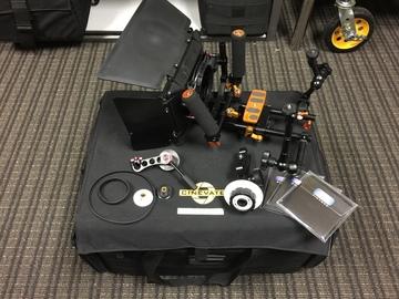 Rent: DSLR Camera Rig Rails / Follow Focus / Matte Box with ND