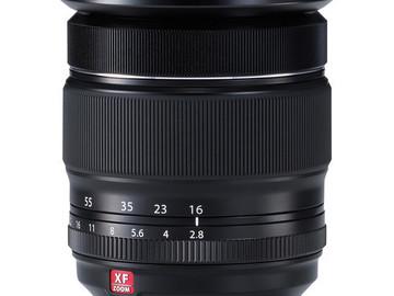 Rent: Fujifilm 16-55 f/2.8