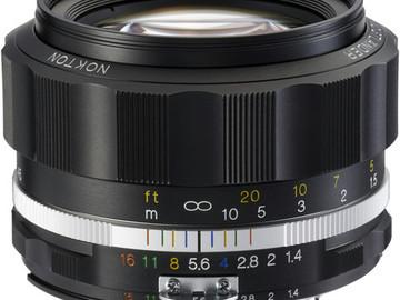 Rent: Voightlander 58mm f/1.4 Nikon mount